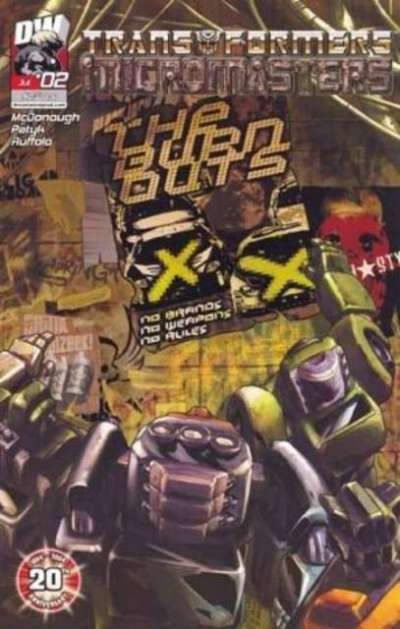 Transformers: Micromasters #2 comic books for sale
