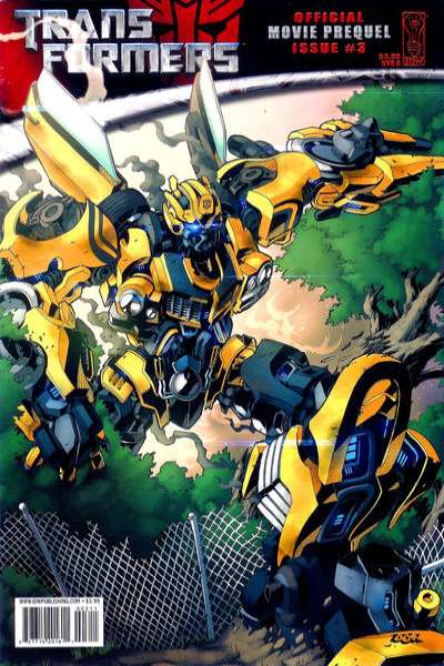 Transformers: Movie Adaptation #3 comic books - cover scans photos Transformers: Movie Adaptation #3 comic books - covers, picture gallery
