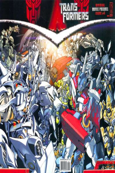 Transformers: Official Movie Prequel #4 cheap bargain discounted comic books Transformers: Official Movie Prequel #4 comic books