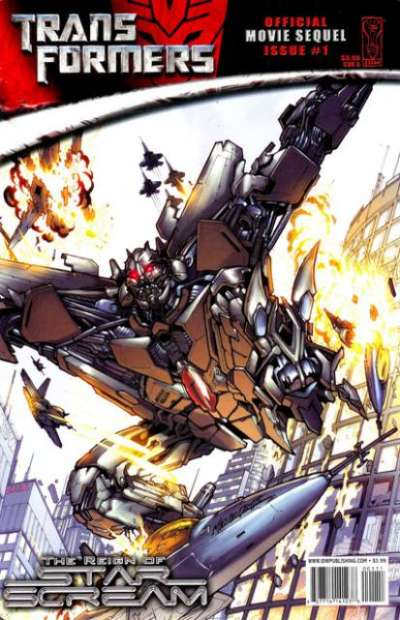 Transformers: Official Movie Sequel Comic Books. Transformers: Official Movie Sequel Comics.