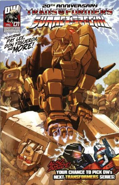 Transformers Summer Special #1 comic books - cover scans photos Transformers Summer Special #1 comic books - covers, picture gallery