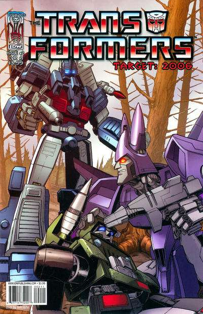 Transformers: Target 2006 #2 comic books for sale