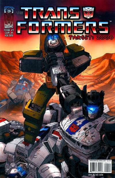 Transformers: Target 2006 #4 comic books for sale