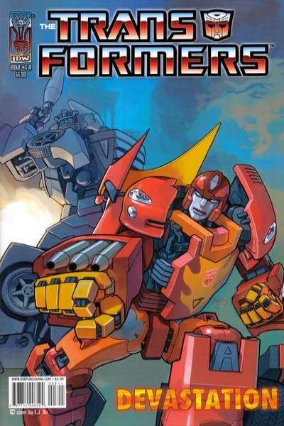 Transformers: The Devastation #3 comic books for sale