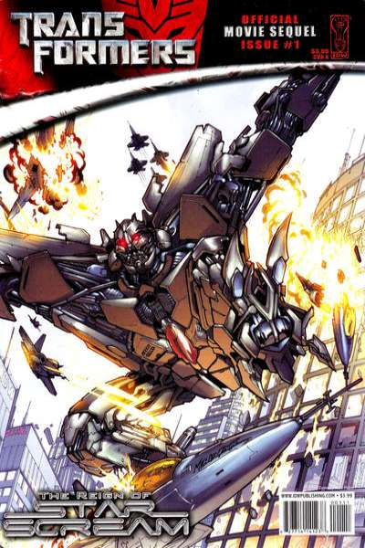 Transformers: The Reign of Starscream comic books