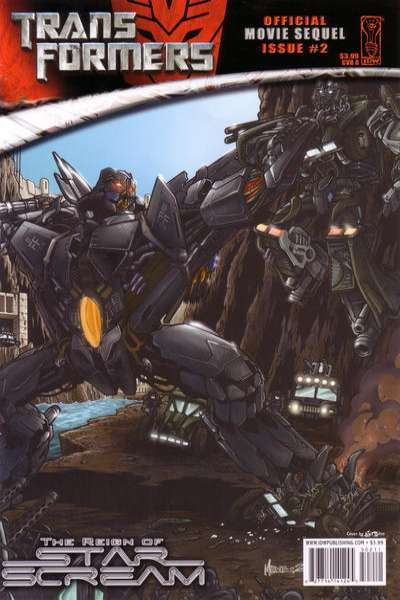 Transformers: The Reign of Starscream #2 Comic Books - Covers, Scans, Photos  in Transformers: The Reign of Starscream Comic Books - Covers, Scans, Gallery