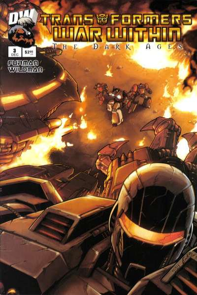 Transformers War Within: The Dark Ages #3 Comic Books - Covers, Scans, Photos  in Transformers War Within: The Dark Ages Comic Books - Covers, Scans, Gallery