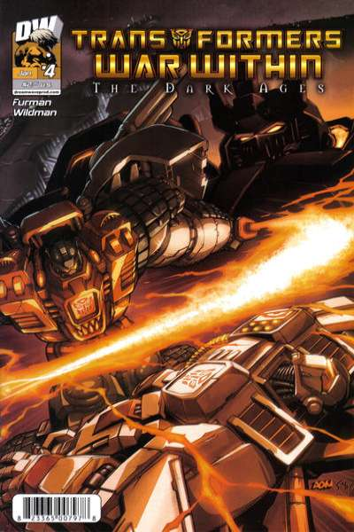 Transformers War Within: The Dark Ages #4 comic books - cover scans photos Transformers War Within: The Dark Ages #4 comic books - covers, picture gallery