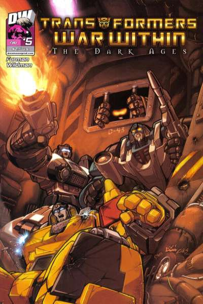 Transformers War Within: The Dark Ages #5 comic books - cover scans photos Transformers War Within: The Dark Ages #5 comic books - covers, picture gallery