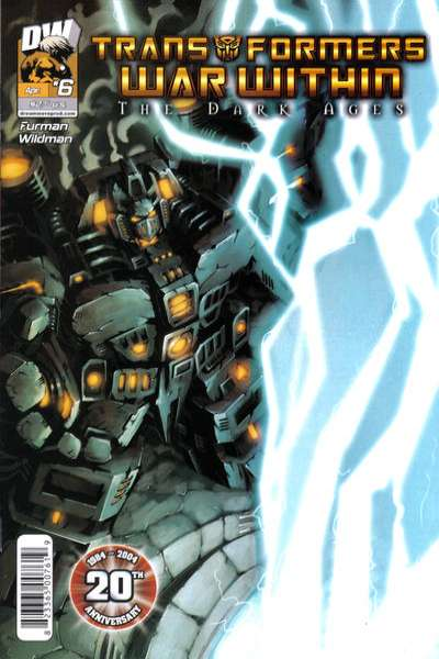 Transformers War Within: The Dark Ages #6 comic books for sale