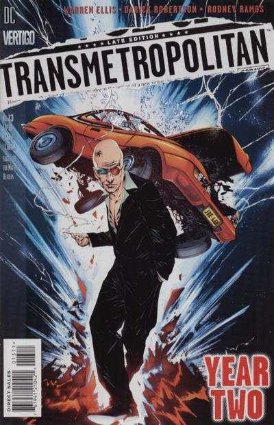 Transmetropolitan #13 comic books - cover scans photos Transmetropolitan #13 comic books - covers, picture gallery