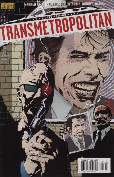 Transmetropolitan #15 comic books - cover scans photos Transmetropolitan #15 comic books - covers, picture gallery
