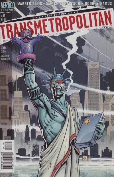 Transmetropolitan #16 comic books - cover scans photos Transmetropolitan #16 comic books - covers, picture gallery