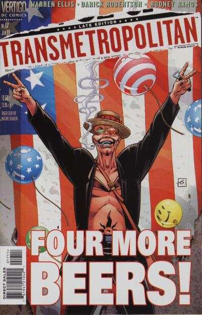 Transmetropolitan #17 comic books - cover scans photos Transmetropolitan #17 comic books - covers, picture gallery