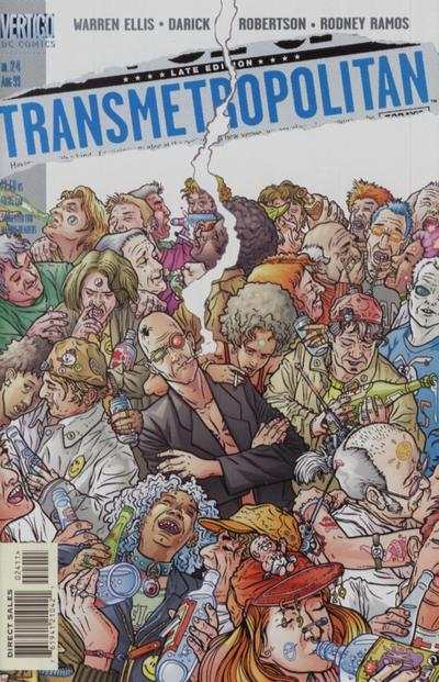 Transmetropolitan #24 comic books - cover scans photos Transmetropolitan #24 comic books - covers, picture gallery