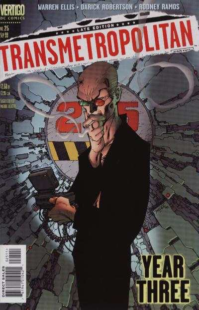 Transmetropolitan #25 comic books - cover scans photos Transmetropolitan #25 comic books - covers, picture gallery