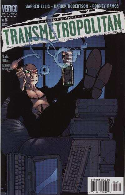 Transmetropolitan #26 comic books - cover scans photos Transmetropolitan #26 comic books - covers, picture gallery
