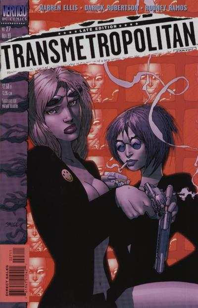 Transmetropolitan #27 comic books - cover scans photos Transmetropolitan #27 comic books - covers, picture gallery