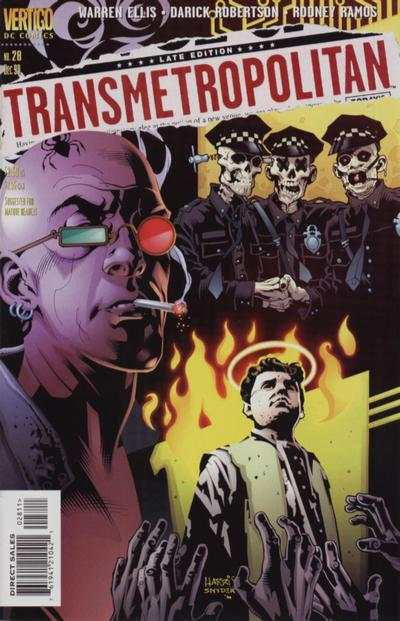 Transmetropolitan #28 comic books - cover scans photos Transmetropolitan #28 comic books - covers, picture gallery