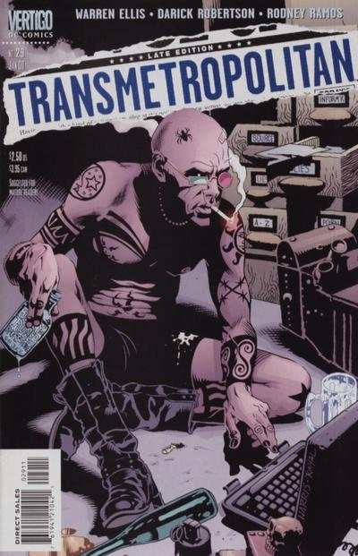 Transmetropolitan #29 comic books - cover scans photos Transmetropolitan #29 comic books - covers, picture gallery