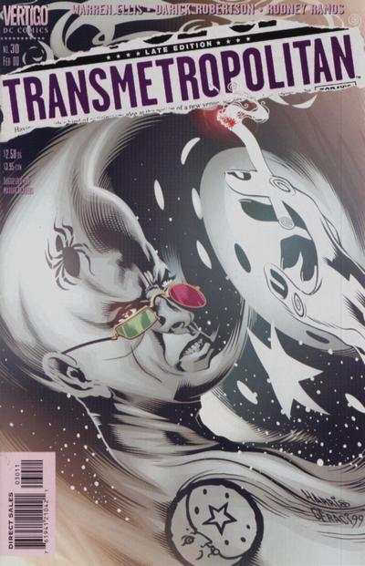 Transmetropolitan #30 Comic Books - Covers, Scans, Photos  in Transmetropolitan Comic Books - Covers, Scans, Gallery