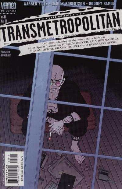 Transmetropolitan #31 comic books - cover scans photos Transmetropolitan #31 comic books - covers, picture gallery