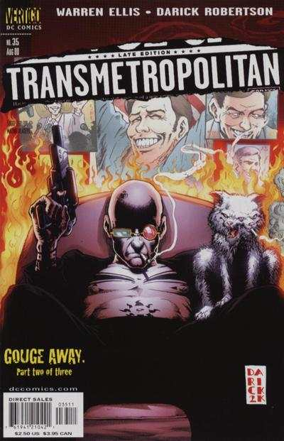 Transmetropolitan #35 comic books - cover scans photos Transmetropolitan #35 comic books - covers, picture gallery
