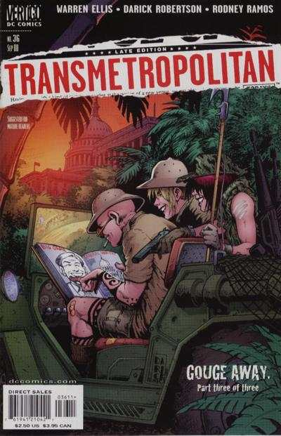 Transmetropolitan #36 Comic Books - Covers, Scans, Photos  in Transmetropolitan Comic Books - Covers, Scans, Gallery