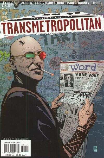 Transmetropolitan #37 comic books - cover scans photos Transmetropolitan #37 comic books - covers, picture gallery