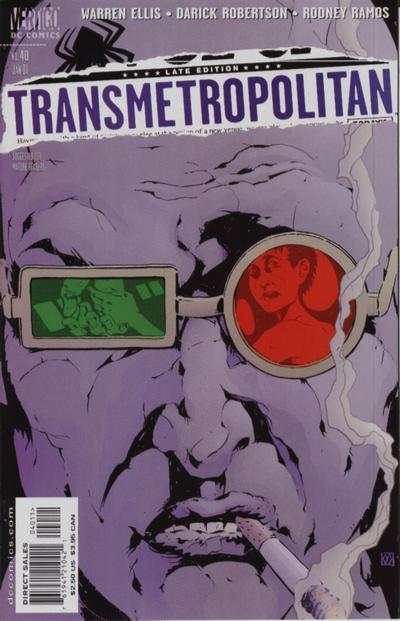 Transmetropolitan #40 comic books - cover scans photos Transmetropolitan #40 comic books - covers, picture gallery