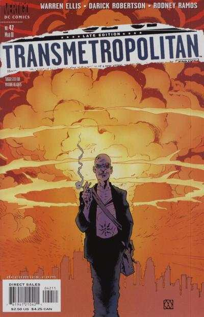 Transmetropolitan #42 comic books - cover scans photos Transmetropolitan #42 comic books - covers, picture gallery