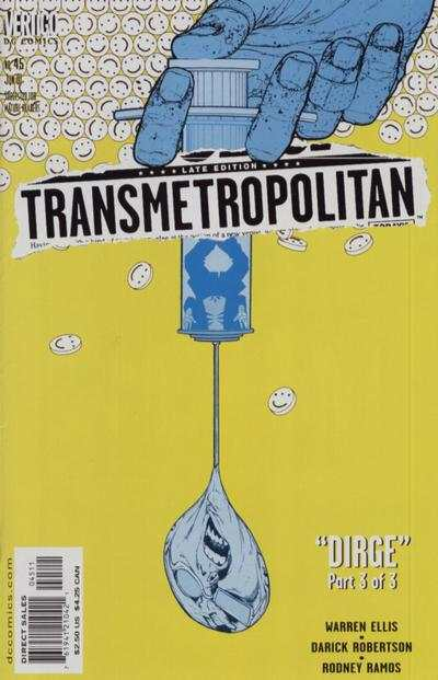 Transmetropolitan #45 comic books - cover scans photos Transmetropolitan #45 comic books - covers, picture gallery