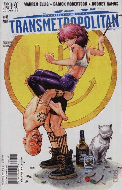 Transmetropolitan #46 comic books - cover scans photos Transmetropolitan #46 comic books - covers, picture gallery