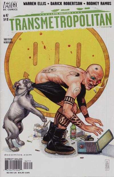 Transmetropolitan #47 comic books - cover scans photos Transmetropolitan #47 comic books - covers, picture gallery