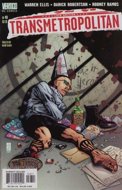 Transmetropolitan #48 Comic Books - Covers, Scans, Photos  in Transmetropolitan Comic Books - Covers, Scans, Gallery