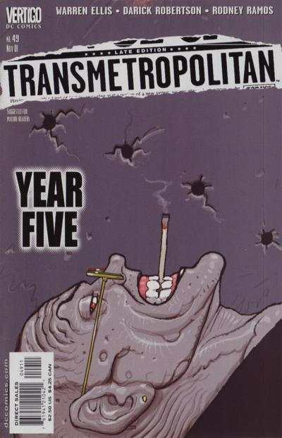 Transmetropolitan #49 comic books - cover scans photos Transmetropolitan #49 comic books - covers, picture gallery
