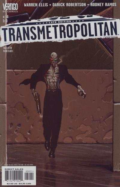 Transmetropolitan #50 comic books - cover scans photos Transmetropolitan #50 comic books - covers, picture gallery