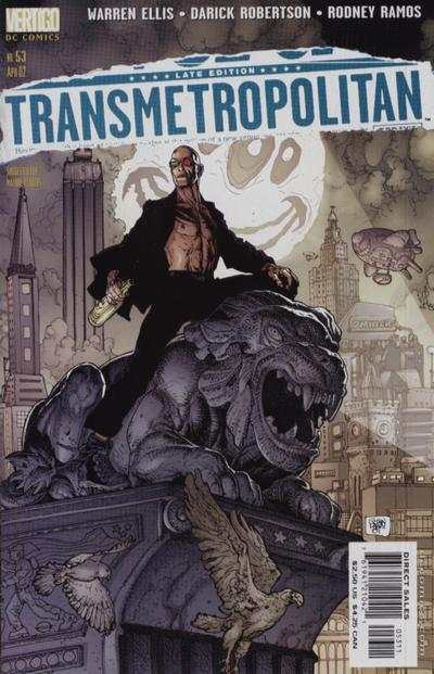 Transmetropolitan #53 comic books - cover scans photos Transmetropolitan #53 comic books - covers, picture gallery