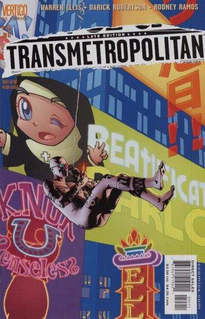 Transmetropolitan #55 comic books for sale