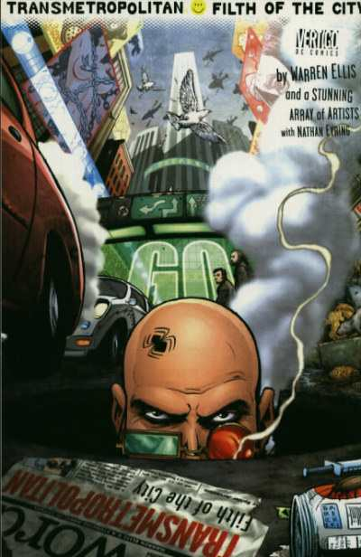 Transmetropolitan #1 comic books - cover scans photos Transmetropolitan #1 comic books - covers, picture gallery