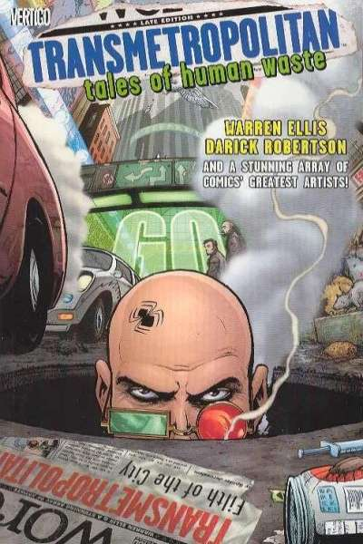 Transmetropolitan #0 comic books for sale