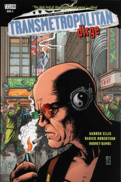 Transmetropolitan #8 comic books for sale