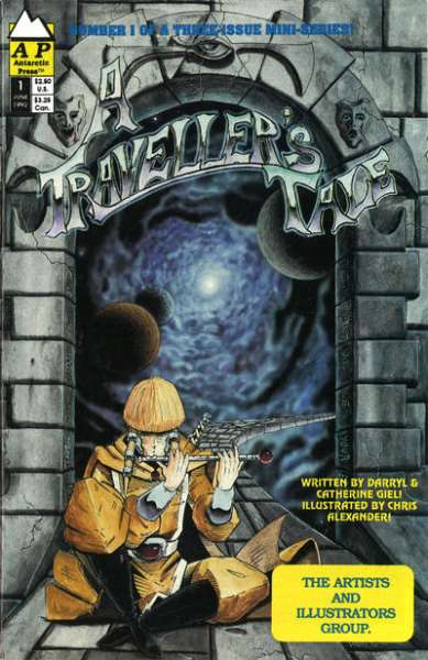 Traveler's Tale #1 comic books - cover scans photos Traveler's Tale #1 comic books - covers, picture gallery