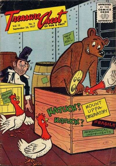 Treasure Chest: Volume 13 #2 comic books - cover scans photos Treasure Chest: Volume 13 #2 comic books - covers, picture gallery