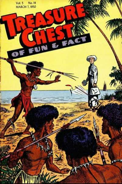 Treasure Chest: Volume 5 #14 Comic Books - Covers, Scans, Photos  in Treasure Chest: Volume 5 Comic Books - Covers, Scans, Gallery