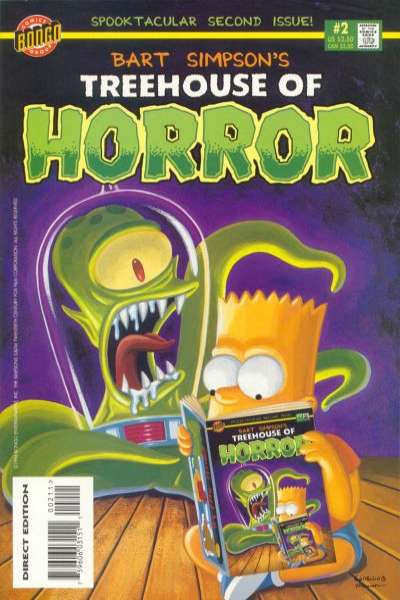 Treehouse of Horror #2 Comic Books - Covers, Scans, Photos  in Treehouse of Horror Comic Books - Covers, Scans, Gallery