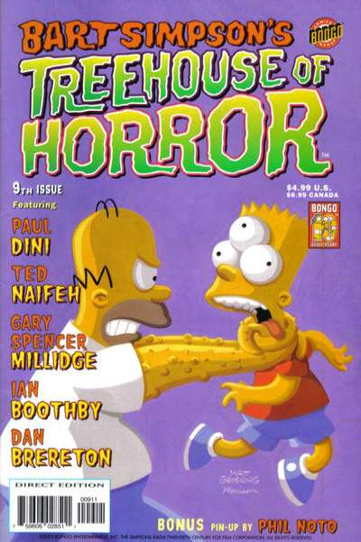 Treehouse of Horror #9 comic books for sale