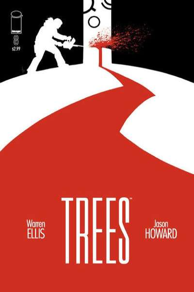 Trees #8 comic books for sale