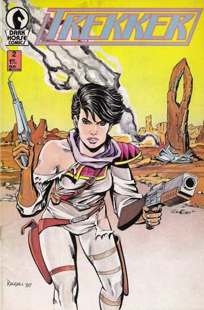 Trekker #2 comic books - cover scans photos Trekker #2 comic books - covers, picture gallery