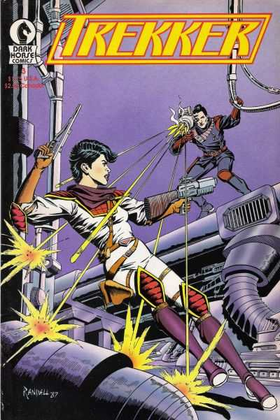 Trekker #3 comic books - cover scans photos Trekker #3 comic books - covers, picture gallery